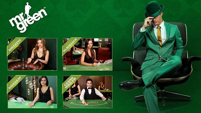 Mr Green Spiele